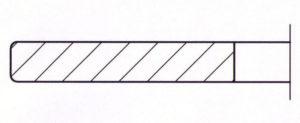 Kreismesser mit Radius