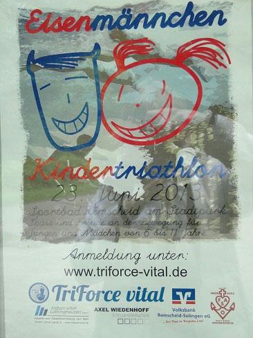 Eisenmännchen 2013 Flyer