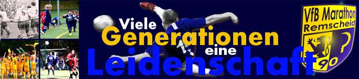 VfB Marathon Remscheid Banner